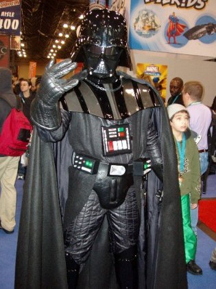 Darth Vader gives Degrassi fans the shocker.